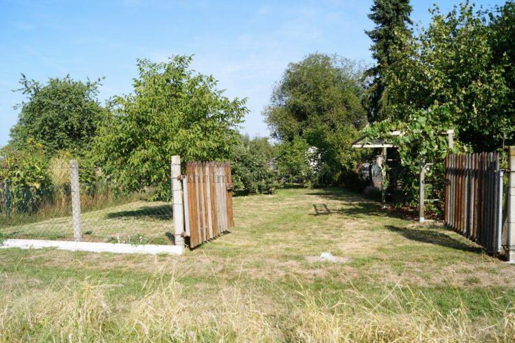 Eingang Gartengrundstück